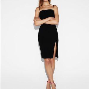 Express front slit dress